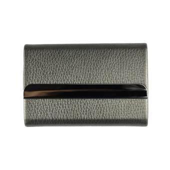 Marino กระเป๋านามบัตร กล่องแม่เหล็กใส่นามบัตร รุ่น H002 - สีเทา