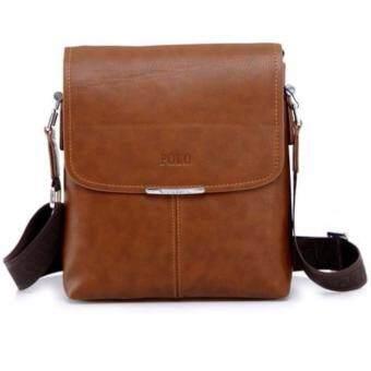 Trusty กระเป๋าสะพายหนัง Polo Videng 0259 - Brown