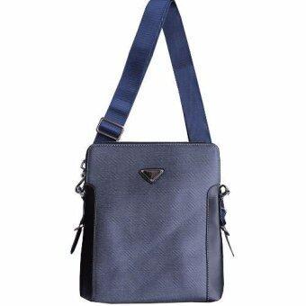 Peimm Modello Standard กระเป๋าสะพายพาดลำตัว กระเป่า Messenger กันน้ำ - Multi Function (สีเทาเข้ม)