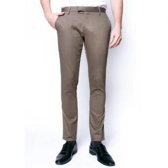 B&B กางเกงขายาว Chino Pant (KHAKI )