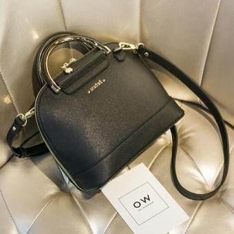 Axixi กระเป๋าแฟชั่น รุ่น A12203 (Black)
