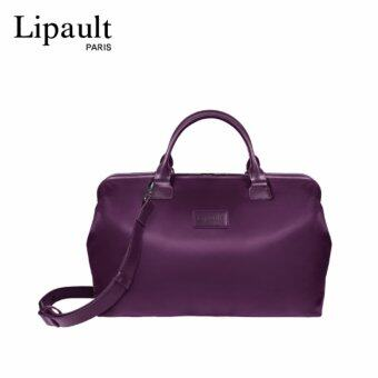 LIPAULT กระเป๋าถือ รุ่น LADY PLUME BOWLING BAG M สี PURPLE
