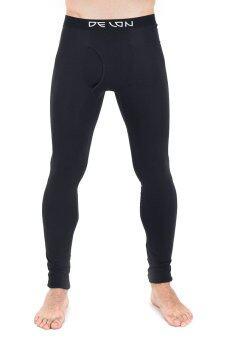 ขายคู่+Super Soft ลองจอนกางเกงในชายใส่กันหนาว +DELON + AB54002 - สีดำ (2 ตัว)