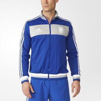 Adidas เสื้อแจ็กเก็ต Chelsea FC Track AJ8225 (Blue)