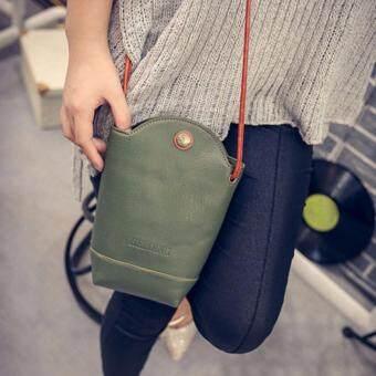 MATTEO กระเป๋าสะพาย กระเป๋าโทรศัพท์ ผู้หญิง HEROING สีเขียว