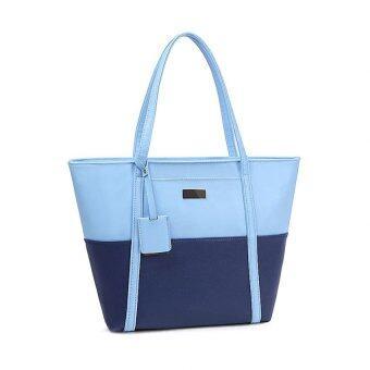openกระเป๋าสะพายข้างแฟชั่น (สีฟ้า) รุ่น040