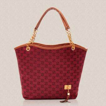 กะเป๋าสะพายสีแดง