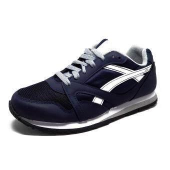 HARA Sports รองเท้าผ้าใบ ผู้ชาย ผู้หญิง รุ่น J75 สีกรม