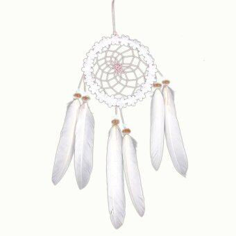 Harga Dream Catcher with feathers wall or car hanging decoration ornament-w