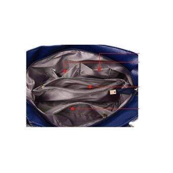 Happy & Lovely bag กระเป๋าสะพายข้างผู้หญิง หนัง PU รุ่น SB0029BL (สีดำ)