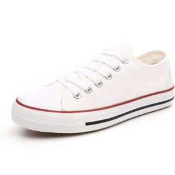 Wonderful รองเท้าผ้าใบผู้หญิง รุ่น A02 (สีขาว)