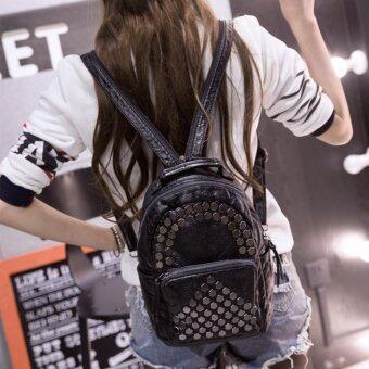 B'nana Beauty กระเป๋าเป้สะพายหลัง กระเป๋าเป้เกาหลี กระเป๋าสะพายหลังผู้หญิง backpack women รุ่น GB-20 (สีดำ)