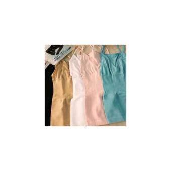 MUNAFIE slimming vest เสื้อกระชับสัดส่วน เก็บส่วนเกิน (สีเนื้อ) - 2 ตัว