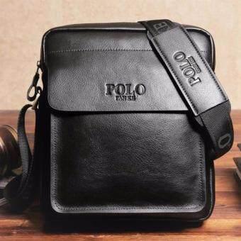 Matteo กระเป๋าสะพาย กระเป๋าไอแพ็ต กระเป๋าเอกสาร Polo Fanke 152X (สีดำ)