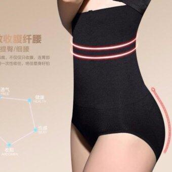 PerfectShape กางเกงในเก็บพุงกระชับสัดส่วน ยาวเต็มตัวถึงขอบบรา (สีดำ)