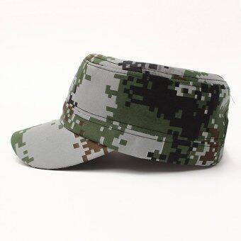 Harga Unisex Sun Visor Army Camouflage Military Soldier Hats Jungle Caps