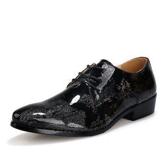 พวกรองเท้าหนังแท้รองเท้าธุรกิจทางการทหารลำลองรองเท้า (สีดำ) (ส่งออก)-ระหว่างประเทศ