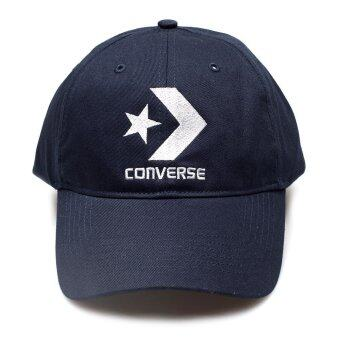 CONVERSE หมวกแก๊ป รุ่น STAR CHEVRON CAP NAVY 1250698CNY - 125000698NY-F(NAVY)