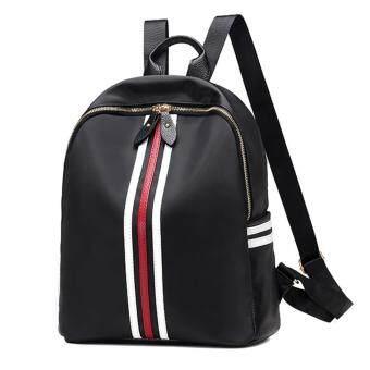 Wichu Bag กระเป๋าสะพายหลัง ผู้หญิง กระเป๋าแฟชั่น กระเป๋าเป้เกาหลี รุ่น LP-136 (สีดำ)