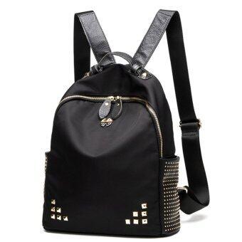 Little Bag กระเป๋าเป้สะพายหลัง กระเป๋าเป้เกาหลี กระเป๋าสะพายหลังผู้หญิง backpack women รุ่น LP-121 (สีดำ)