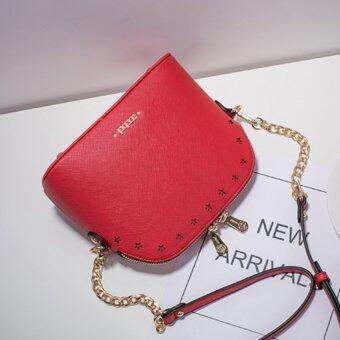 AXIXI กระเป๋าสะพายแฟชั่น รุ่น Red Star สีแดง