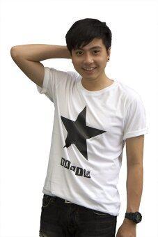 Live เสื้อยืด รุ่น Star Basic (สีขาว)