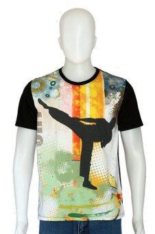 D2Shirt BS02 เสื้อยืดคอกลมลายเทควันโด