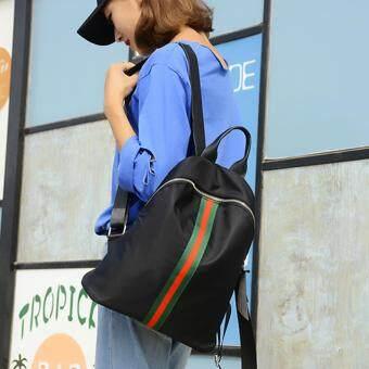 Little Bag กระเป๋าเป้สะพายหลัง กระเป๋าเป้เกาหลี กระเป๋าสะพายหลังผู้หญิง backpack women รุ่น LP-123 (สีดำ)