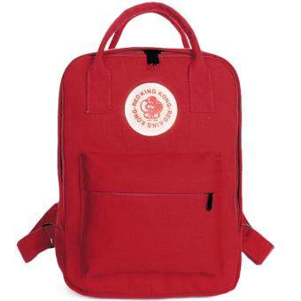 RICHCOCO กระเป๋าเป้สะพายหลัง (K00-Red)