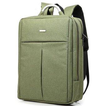 FTshop กระเป๋าเป้เดินทาง กระเป๋าสะพายหลัง กระเป๋าเป้ผู้ชาย กระเป๋าเป้เท่ๆ รุ่น17C-4(สีเขียวขี้ม้า)