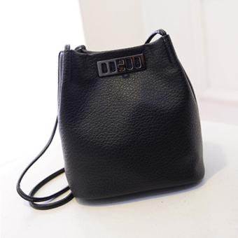 Little Bag กระเป๋าสะพายข้าง รุ่น LB-010 (Black)