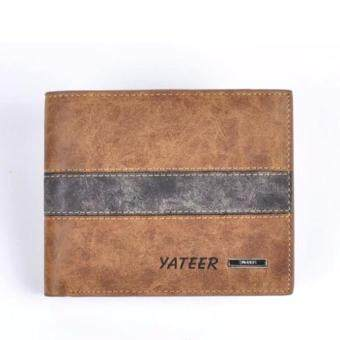 Matteo กระเป๋าสตางค์หนังผู้ชาย 3 ชั้น Yateer รุ่น B0801 - สีน้ำตาล