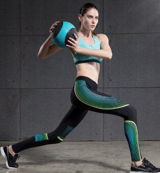 Vansydical กางเกงกระชับกล้ามเนื้อ รุ่น Power Speed (ดำ-เขียว)