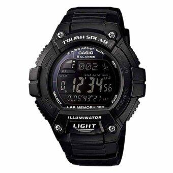 Casio Standard นาฬิกาข้อมือ รุ่น Solar Power W-S220-1B - Black