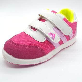 Alice shoe รองเท้าผ้าใบ แฟชั่นเด็กผู้ชาย และ เด็กผู้หญิง รุ่น SKL151-P(สีชมพู)