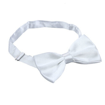 Harga Man Boy Silk Tied Glossy Wedding Bow-tie