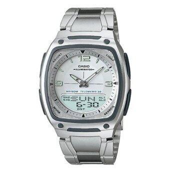 Casio Standard นาฬิกาข้อมือ รุ่น AW81D-7A (Silver)
