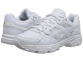 ASICS รองเท้ากีฬา ASICS GEL-CONTEND 3 GS LE kid's รหัส C583Y 0100 (TRIPLE/WHITE/SNOW)