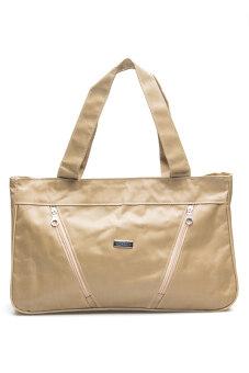 DM กระเป๋าสะพาย Adrano - สีเบจ
