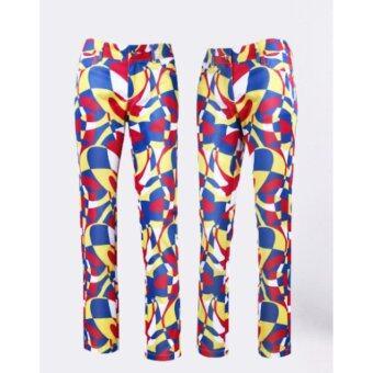 EXCEED LADY GOLF PANTS กางเกงกอล์ฟสำหรับสุภาพสตรี KUZ021