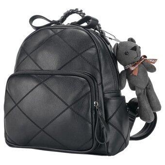 Axixi กระเป๋าแฟชั่น รุ่น A12126 (Black)