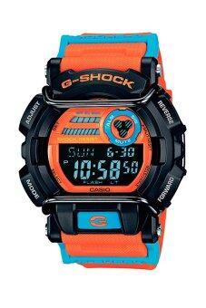 Casio G-shock นาฬิกาข้อมือผู้ชาย สีส้ม สายเรซิ่น รุ่น GD-400DN-4