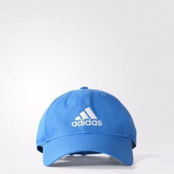 ADIDAS หมวกแก๊ปผ้า รุ่น PERF CAP LOGO - AY4863-OSFM(BLUE)