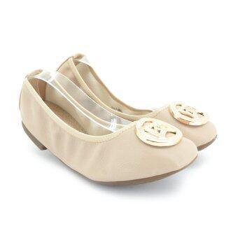 MARIE CLAIRE รองเท้าแฟชั่น ผู้หญิง ส้นแบน BALLERINA/CASUAL สีเนื้อ รหัส 5518695