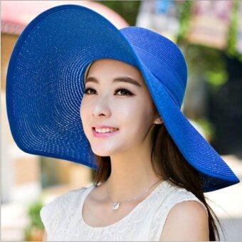 199 หมวกปีกกว้าง Sombrero หมวกกันแดด หมวกพกพา หมวกพับเก็บได้ หมวกผู้หญิง หมวกแฟชั่นสตรี หมวกไปทะเล หมวกมีปีก หมวกเที่ยวทะเล หมวกสาน หมวกปานามาสานปีกกว้าง หมวกชายทะเล หมวกปีกกว้างตกแต่งโบว์ หมวกชายหาด หมวกเเฟชั่นสไตล์เกาหลี