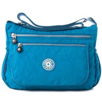 RICHCOCO กระเป๋าสะพาย เนื้อผ้าไนลอนกันน้ำ Waterproof Nylon Handbag Shoulder (Dark Blue)
