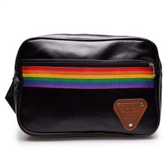 DM กระเป๋าสะพายพาดลำตัว RB KCAJ Bag - สีดำ