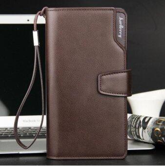 สร้าง 2016 PU หนัง baellerry สันทนาการกระเป๋ามือชายยาวสามสิบเปอร์เซ็นต์ของเงินในกระเป๋าถือกระเป๋าสตางค์โทรศัพท์มือถือแพ็กเกจ