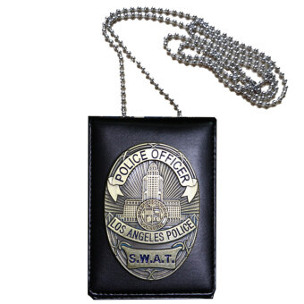 Harga Cosplay Collection LA Police SWAT Officer Badges Card ID Cards Holder 1:1 Gift