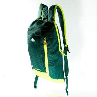 Mansomeguys กระเป๋าเป้จักรยาน เป้กันน้ำ สำหรับปั่นจักรยาน รุ่น Waterproof Bag Arpenaz Green สีเขียวเข้ม